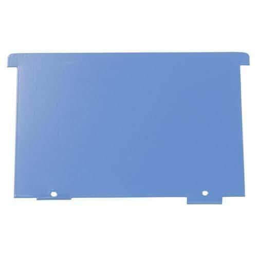 Dělicí příčka do lístkovnic A6, modrá