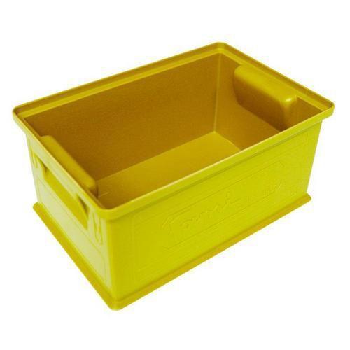 Barevná plastová přepravka PS (8,7 l), žlutá - Prodloužená záruka na 10 let