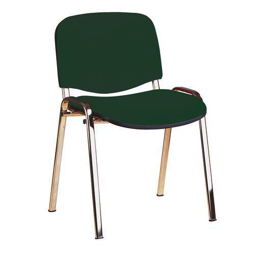 Konferenční židle ISO Chrom, zelená