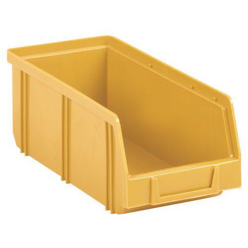 Plastový box 8,3 x 10,3 x 24 cm, žlutý