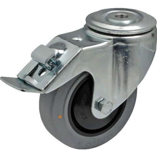 Antistatické gumové přístrojové kolo se středovým otvorem, průmě