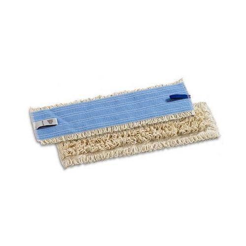 Plochý bavlněný mop Velcro, 60 cm, 5 ks