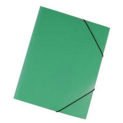 Plastové spisové desky Trio, 20 ks, zelené