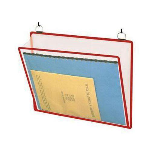Informační rámečk Tarifold A4, se dvěma oky, červený
