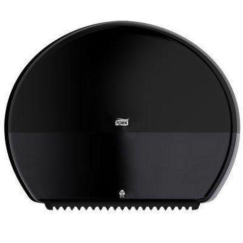 Zásobník na toaletní papír v rolích Tork T-Box, černý
