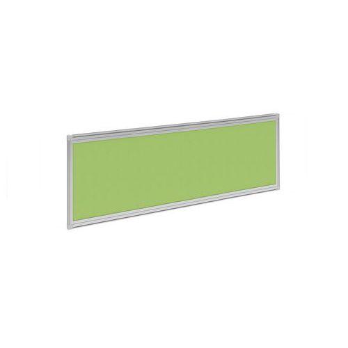 Stolový paraván Alfa 600, 140 x 37 cm, zelený