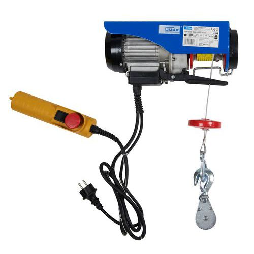 GÜDE GSZ 100/200 Elektrický lanový naviják 55050 - Prodloužená záruka na 10 let