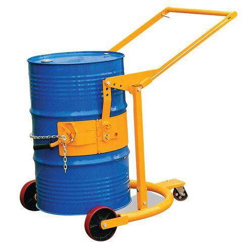 Pojízdný manipulátor na sudy, do 400 kg