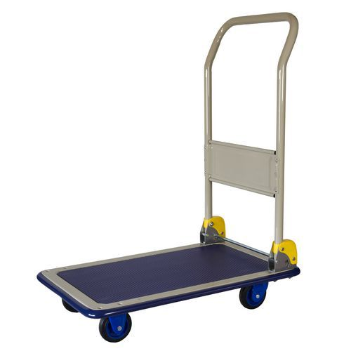 Plošinový vozík se sklopným madlem Prestar, do 150 kg