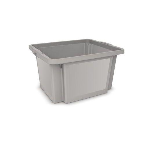 Plastová přepravka, šedá