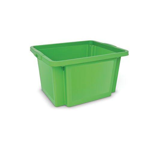 Plastová přepravka, zelená
