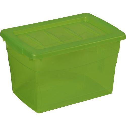 Plastový úložný box s víkem, 16 l