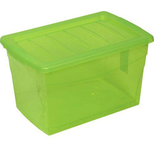 Plastový úložný box s víkem, 29 l