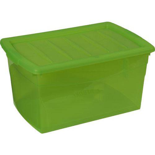 Plastový úložný box s víkem, 50 l