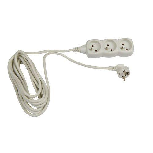Prodlužovací kabel Emos, 3 zásuvky, 5 m