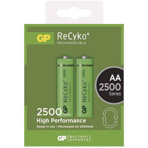 Baterie GP 2500mAh AA 2ks