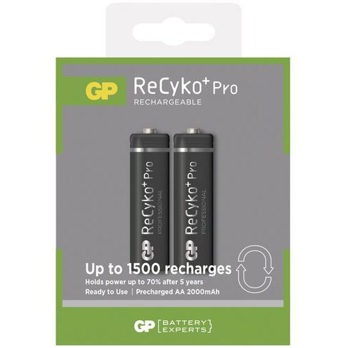 Baterie GP Recyko 2100mAh AA 2ks