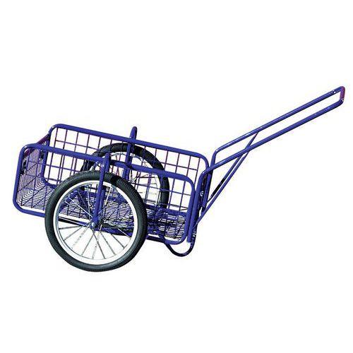 Dvoukolový vozík s dušovými koly 400 mm, do 120 kg