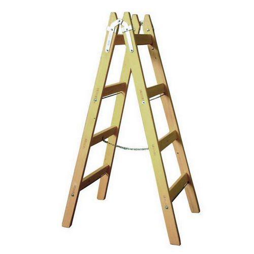 Dřevěné štafle, 2 x 4 příčky