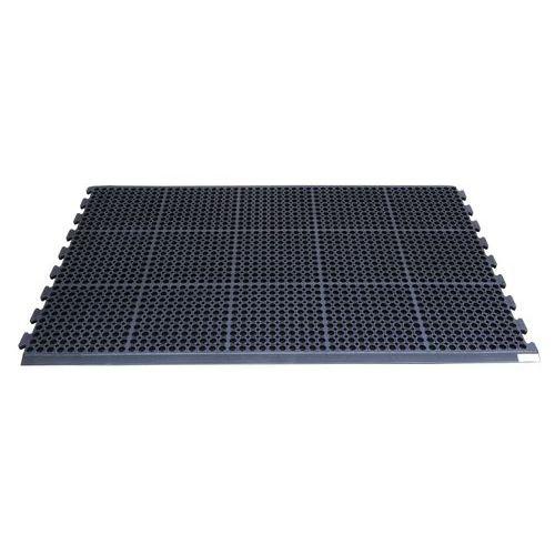 Protiúnavové průmyslové rohože s děrovaným povrchem, 157 x 98 cm