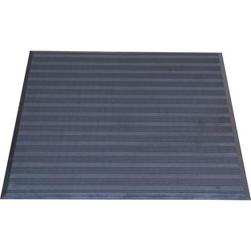 Protiúnavová průmyslová rohož s vroubkovaným povrchem, 79 x 71 cm