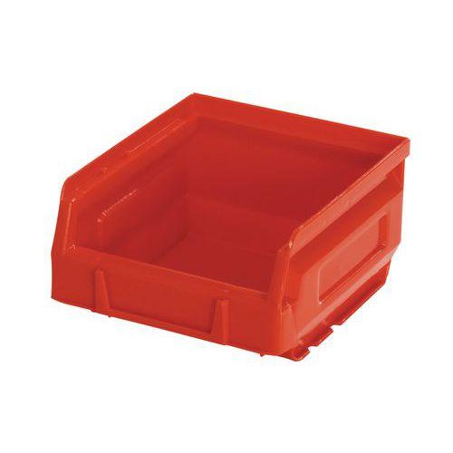 Plastový box 6,2 x 10,3 x 12 cm, červený