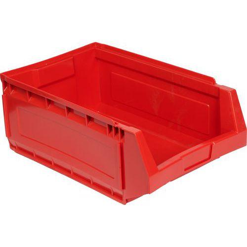 Plastový box 19 x 30,5 x 48,5 cm, červený
