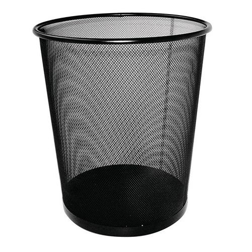 Drátěný odpadkový koš, objem 12 l