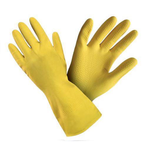 Latexové rukavice pro domácnost, vel. 9