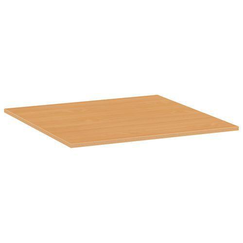 Deska jídelního stolu Versys, 800x800x18 mm, ABS 2 mm, buk