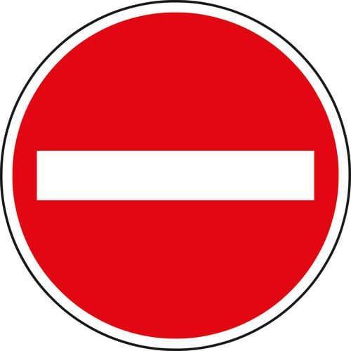 Dopravní značka Zákaz vjezdu všech vozidel (B2)