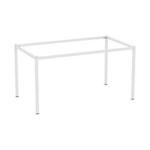 Rám a nohy pro jídelní stůl Versys, 1400x800 mm, světle šedá RAL