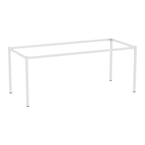 Rám a nohy pro jídelní stůl Versys, 1800x800 mm, světle šedá RAL