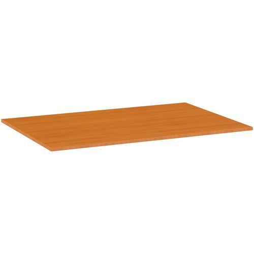 Deska jídelního stolu Versys, 1200x800x18 mm, ABS 2 mm, třešeň