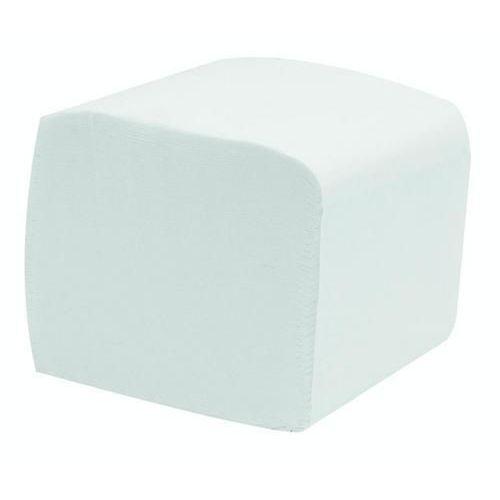 Skládaný toaletní papír Manutan 2vrstvý,20 x 10 cm, 250 útržků,