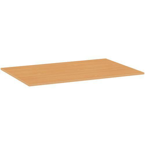 Deska jídelního stolu Versys, 1200x800x18 mm, ABS 2 mm, buk