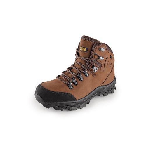 Trekingové kožené kotníkové boty CXS Gotex Blanc, hnědé