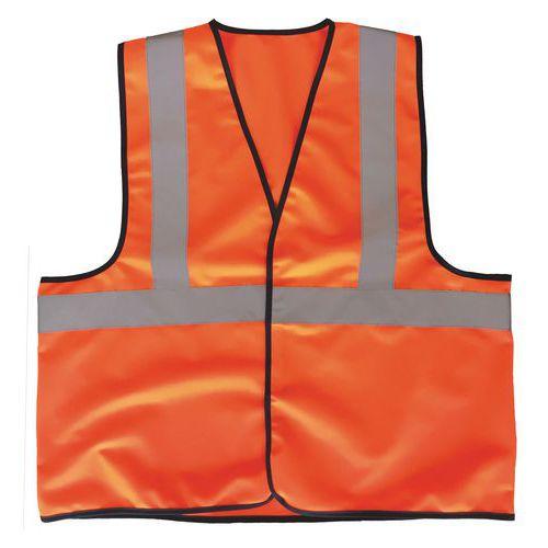 Reflexní vesta Manutan L, oranžová