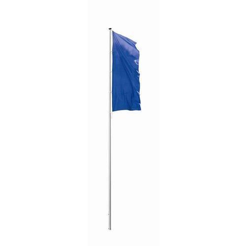 Hliníkový vlajkový stožár s krytým lankovým vedením, 2 díly, 10