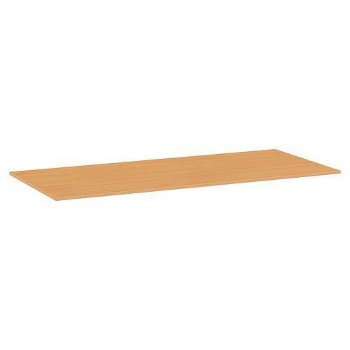 Deska jídelního stolu Versys, 1800x800x18 mm, ABS 2 mm, buk