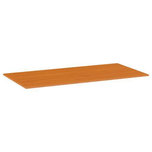 Deska jídelního stolu Versys, 1600x800x18 mm, ABS 2 mm, třešeň