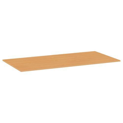 Deska jídelního stolu Versys, 1600x800x18 mm, ABS 2 mm, buk