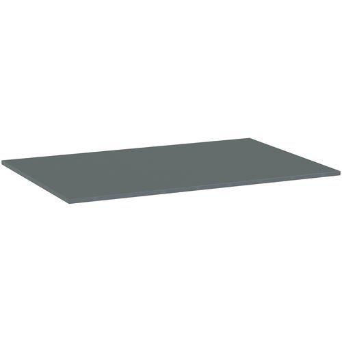 Deska jídelního stolu Versys, 1200x800x18 mm, ABS 2 mm, tmavě še