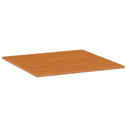 Deska jídelního stolu Versys, 800x800x18 mm, ABS 2 mm, třešeň