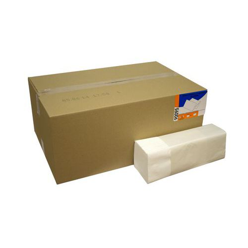 Papírové ručníky Karen Econom 2vrstvé, 100% bílé, 20 ks