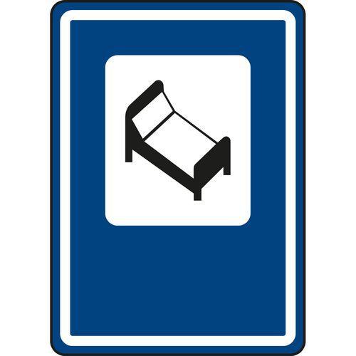 Dopravní značka Hotel nebo motel (IJ10)