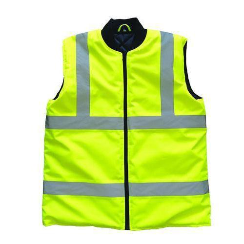 Zimní reflexní vesta Manutan L, žlutá