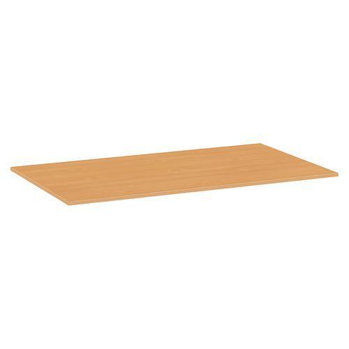 Deska jídelního stolu Versys, 1400x800x18 mm, ABS 2 mm, buk