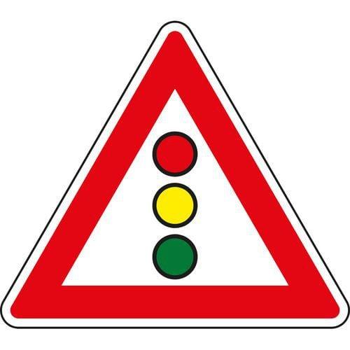 Dopravní značka Světelné signály (A10)