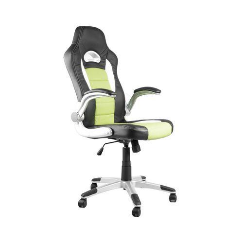 Kancelářská židle Lotus, černá/zelená